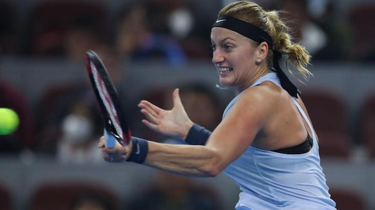 Petra Kvitova poza Sydney International