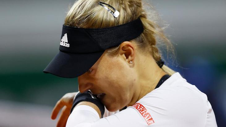 Angie Kerber poza French Open